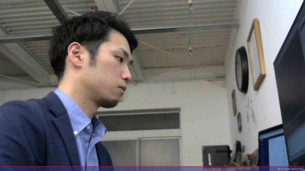 fswebcamで撮影