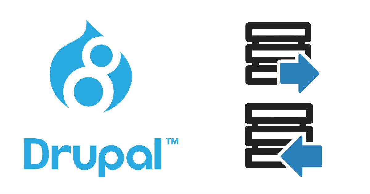 DrupalのDBエクスポート・インポート